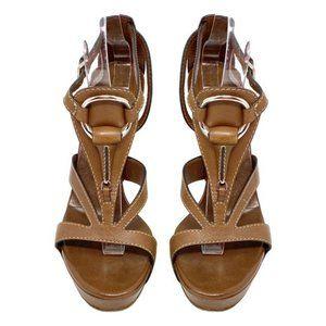 Authentic Gucci Horsebit Platform Sandal 37